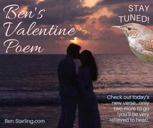 Ben's Valentine Poem 11FEB16